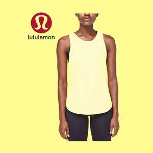 Lululemon Yellow Sculpt Tank Size 4